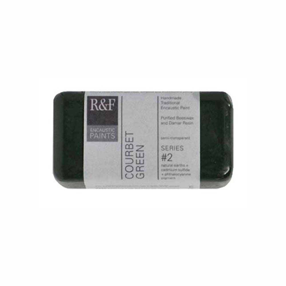 R&F Encaustic 40Ml Courbet Green