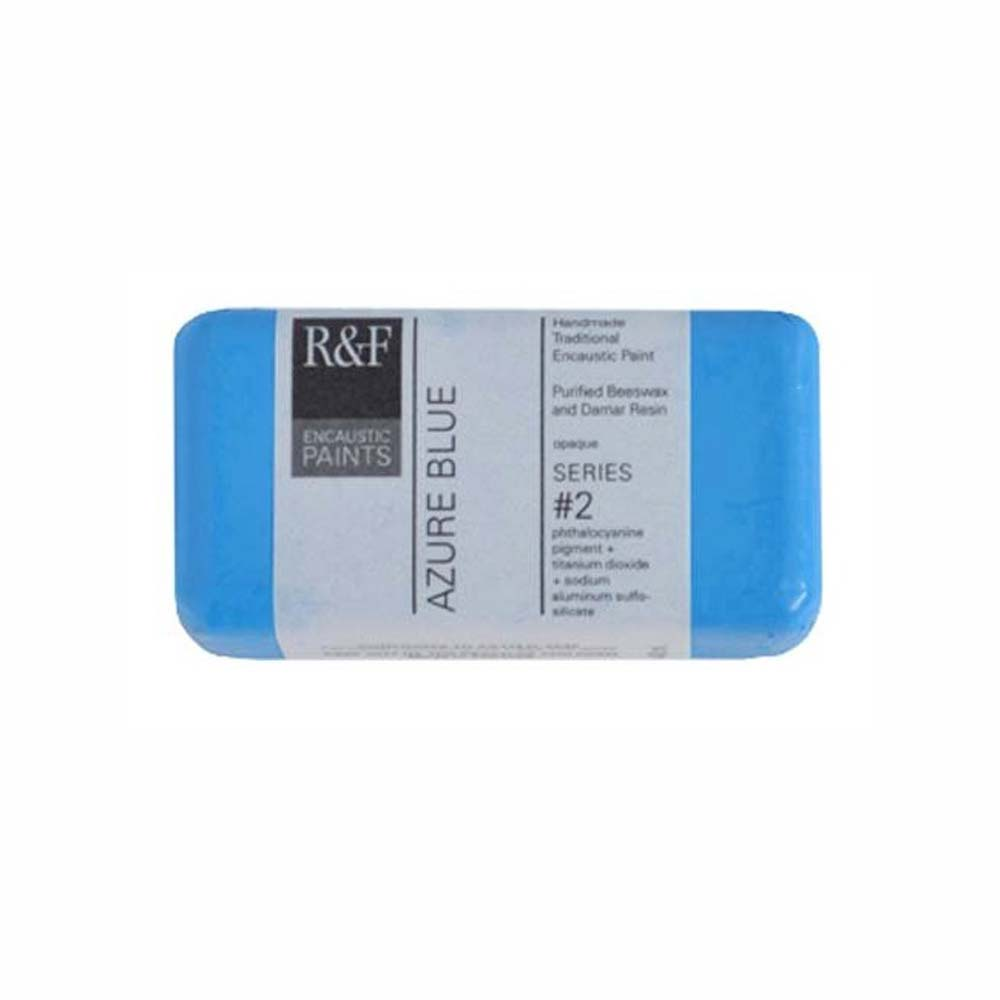 R&F Encaustic 40Ml Azure Blue