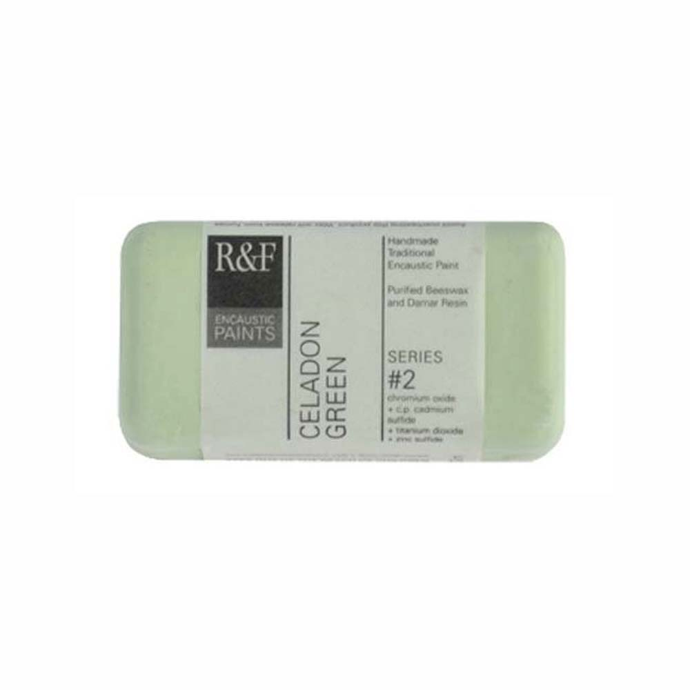 R&F Encaustic 40Ml Celadon Green
