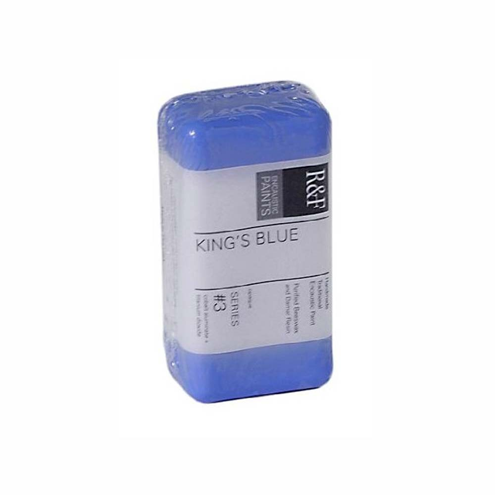 R&F Encaustic 40Ml King's Blue