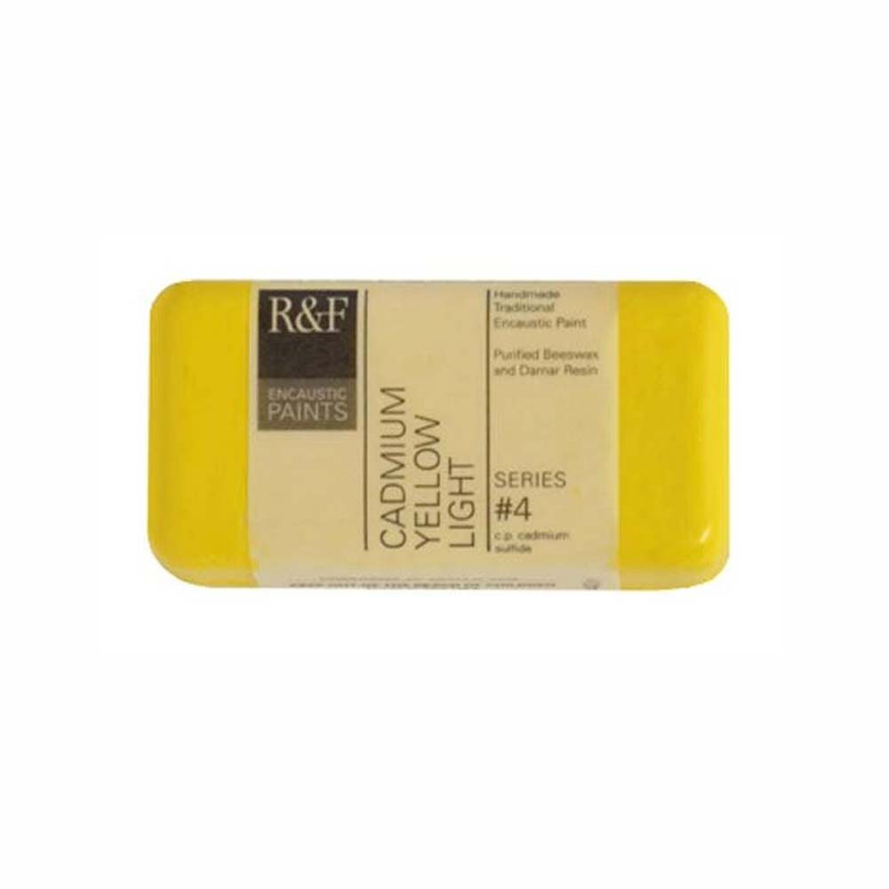 R&F Encaustic 40Ml Cadmium Yellow Light