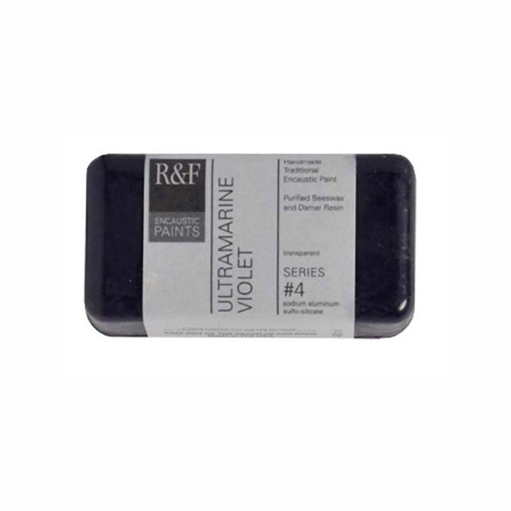 R&F Encaustic 40Ml Ultramarine Violet