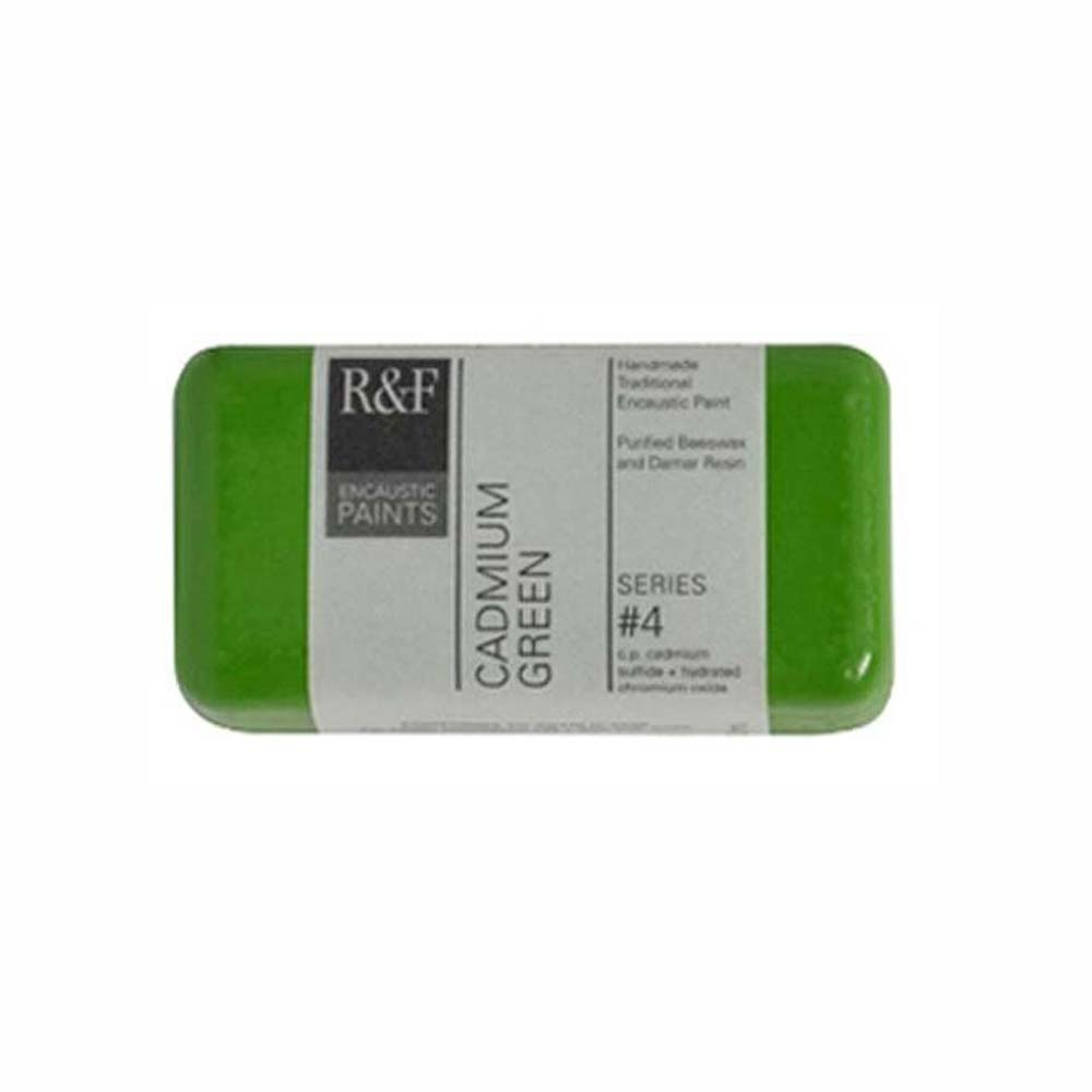 R&F Encaustic 40Ml Cadmium Green