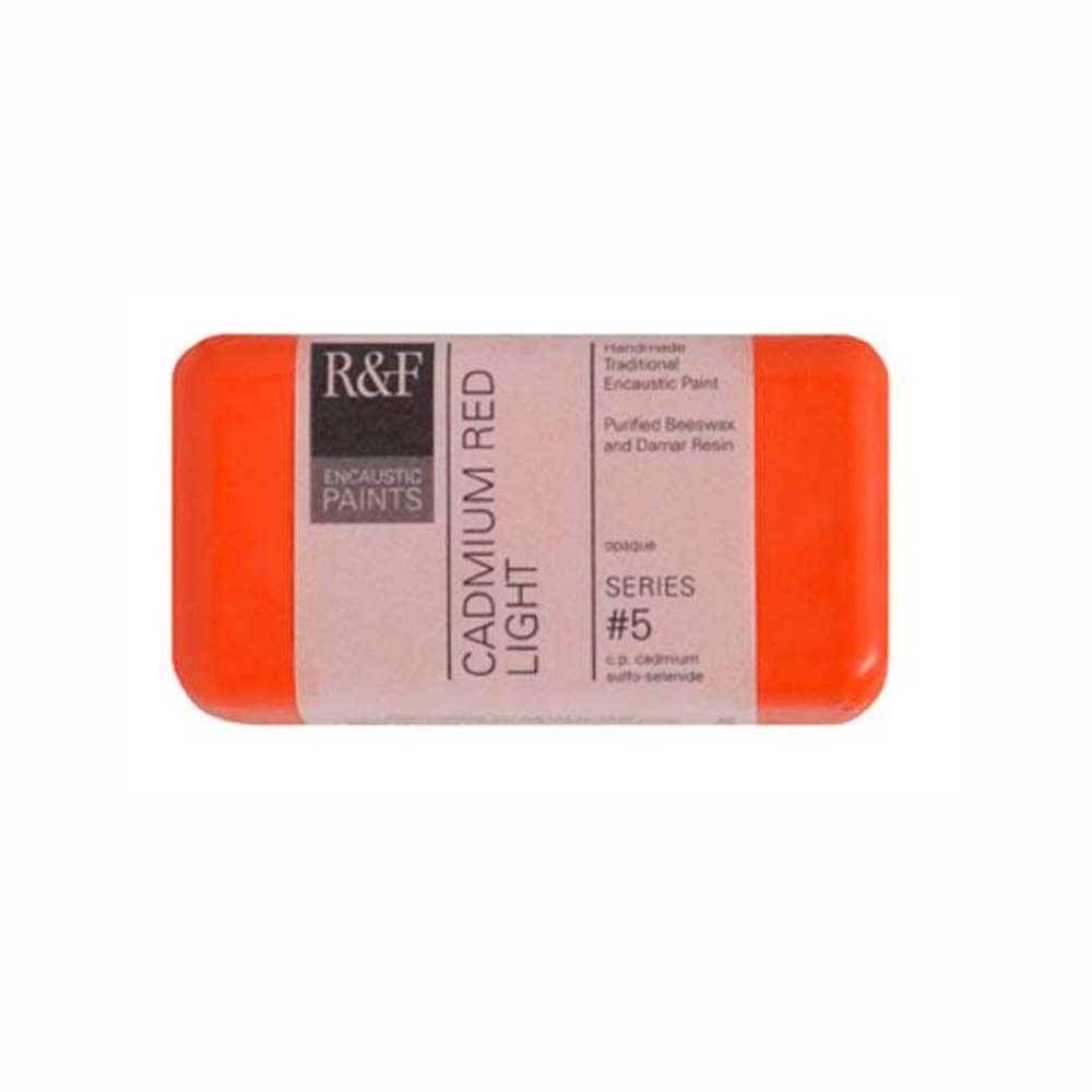 R&F Encaustic 40Ml Cadmium Red Light