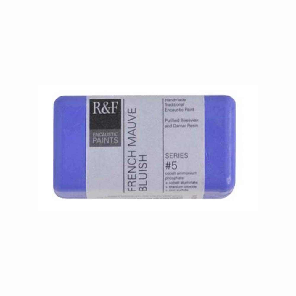 R&F Encaustic 40Ml French Mauve Bluish