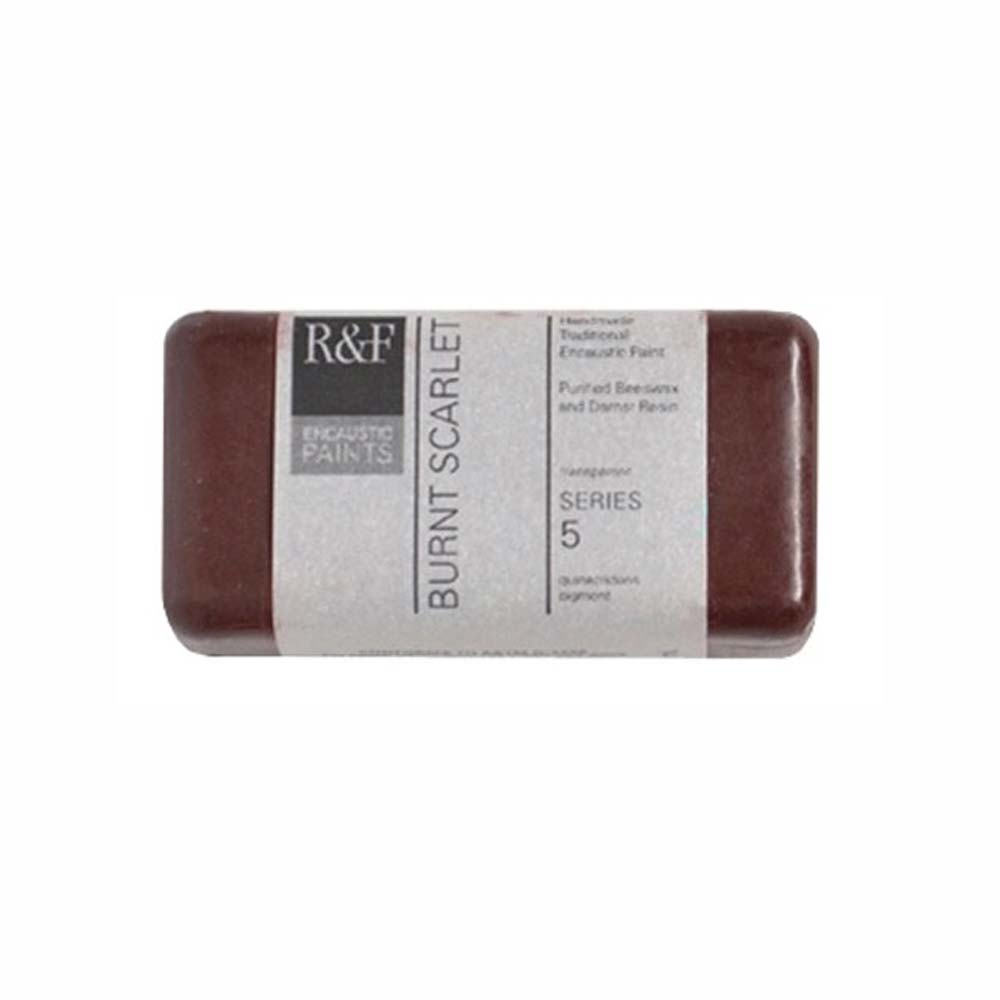 R&F Encaustic 40Ml Burnt Scarlet