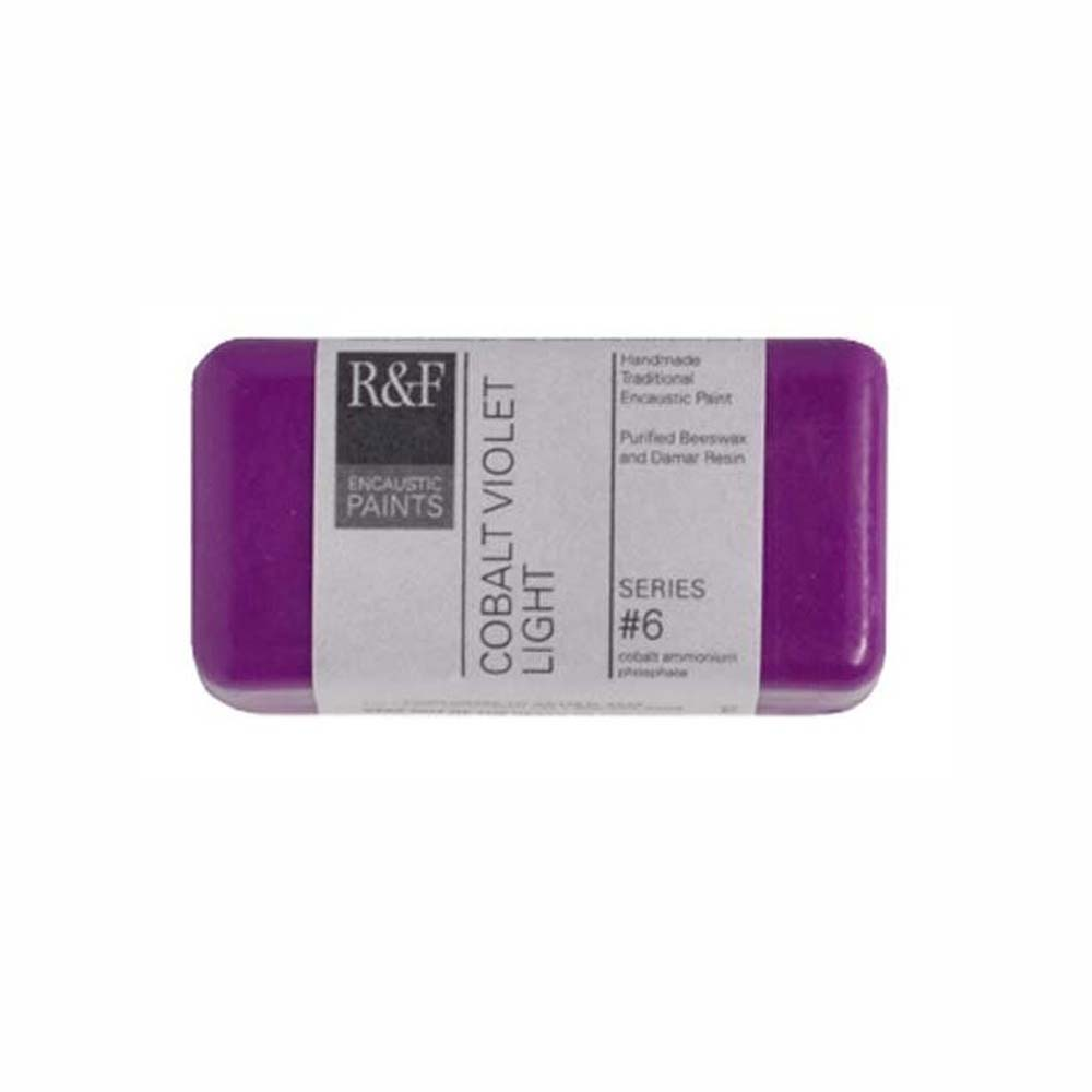 R&F Encaustic 40Ml Cobalt Violet Light