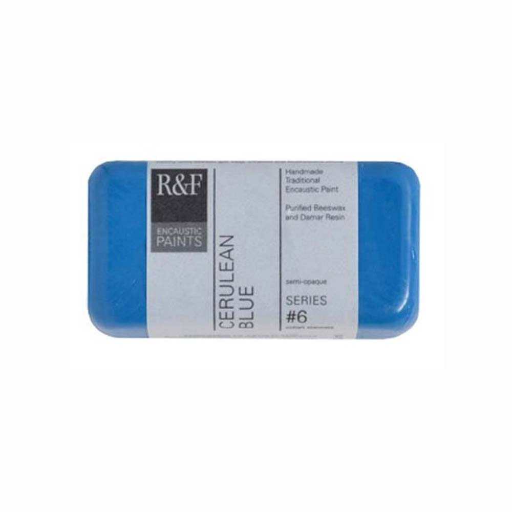 R&F Encaustic 40Ml Cerulean Blue