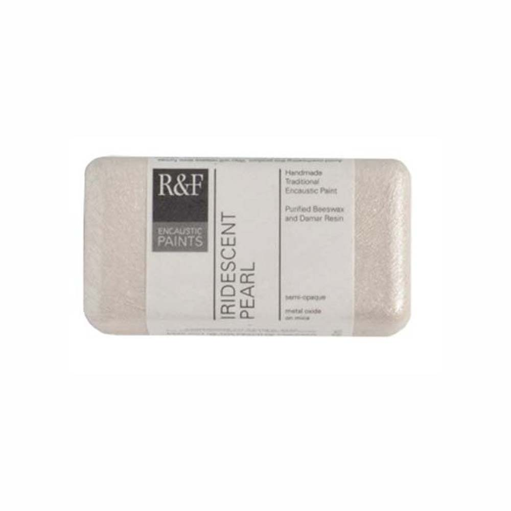 R&F Encaustic 40Ml Iridescent Pearl