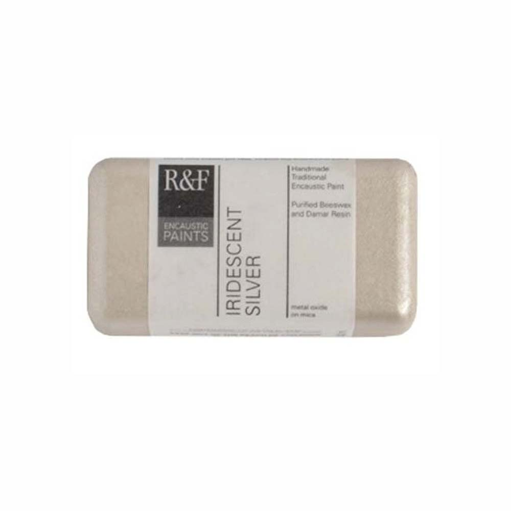 R&F Encaustic 40Ml Iridescent Silver