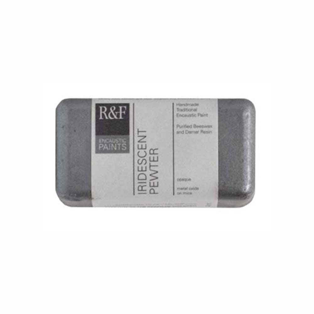 R&F Encaustic 40Ml Iridescent Pewter