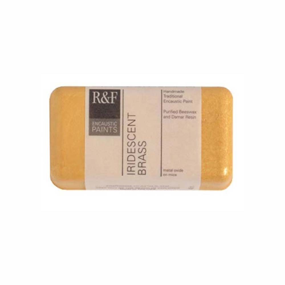 R&F Encaustic 40Ml Iridescent Brass