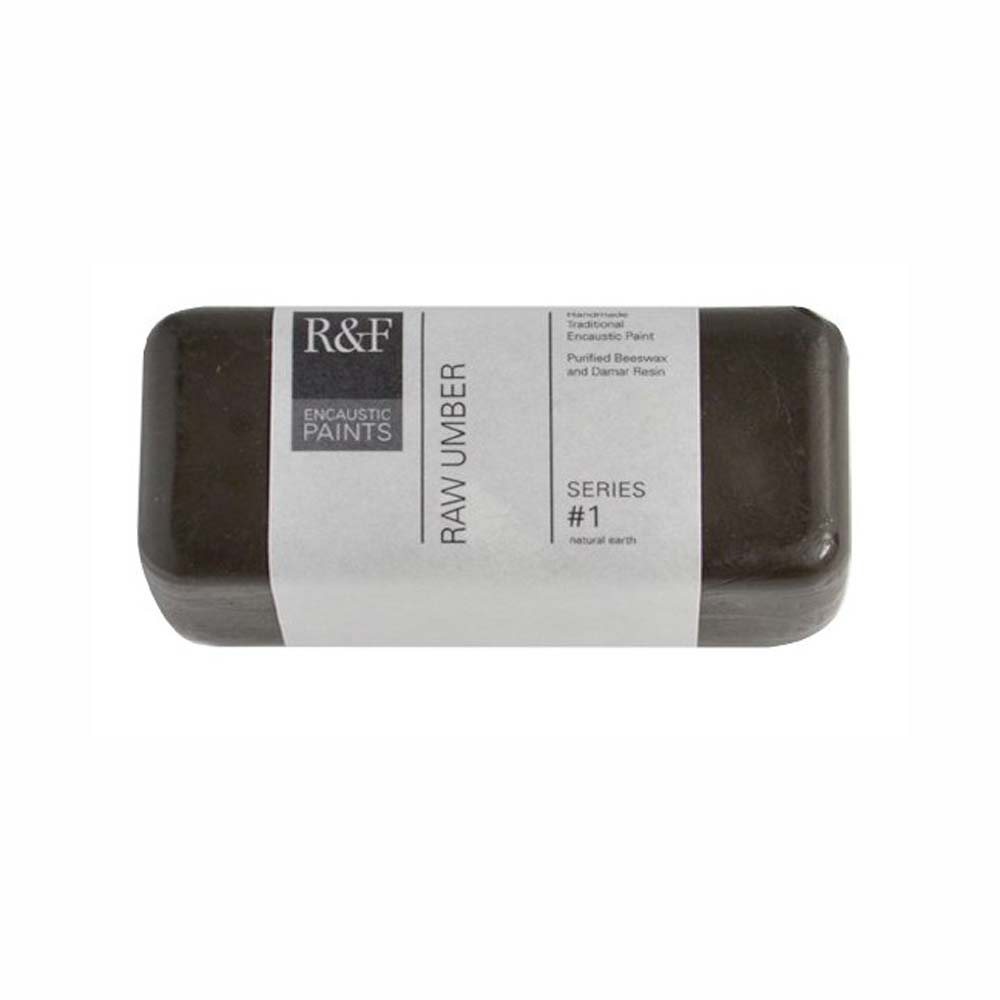 R&F Encaustic 104Ml Raw Umber