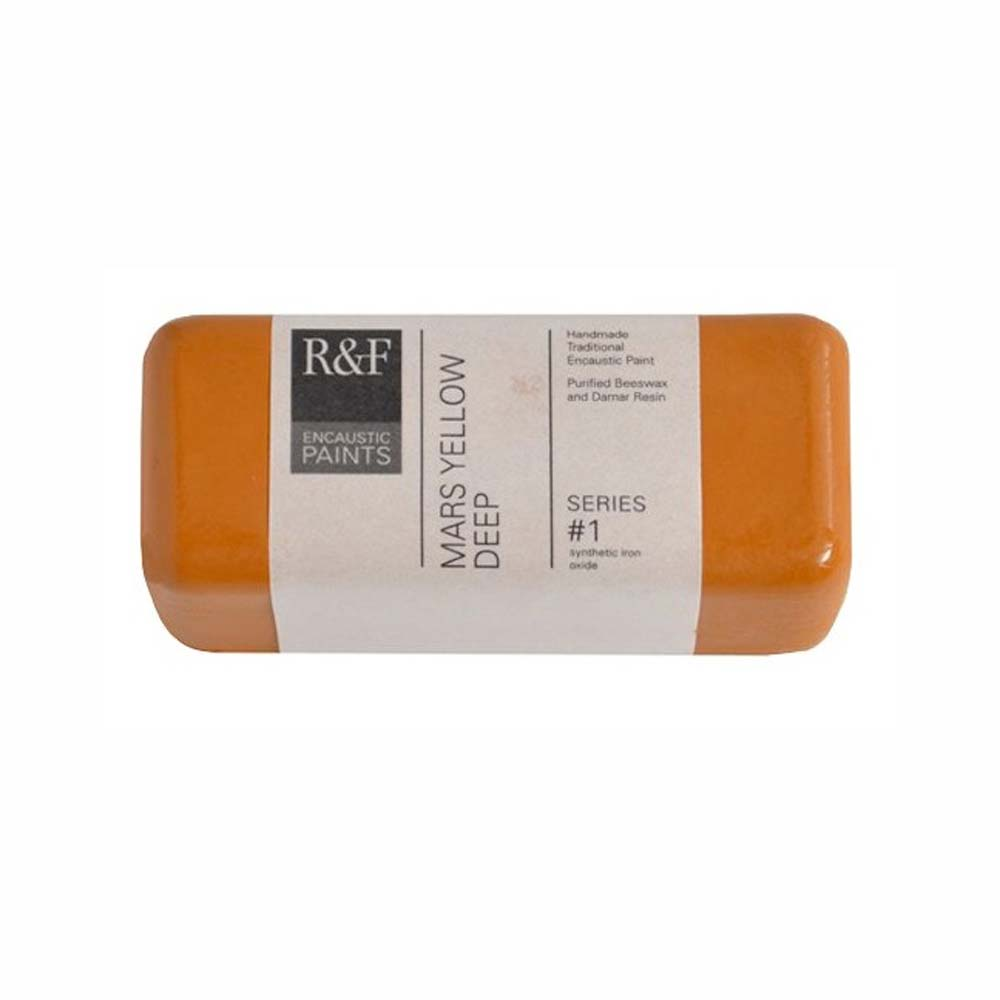 R&F Encaustic 104Ml Mars Yellow Deep