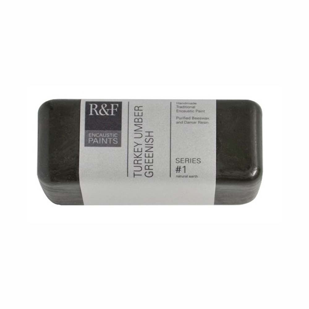 R&F Encaustic 104Ml Turkey Umber Greenish