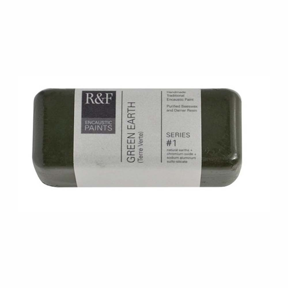 R&F Encaustic 104Ml Green Earth