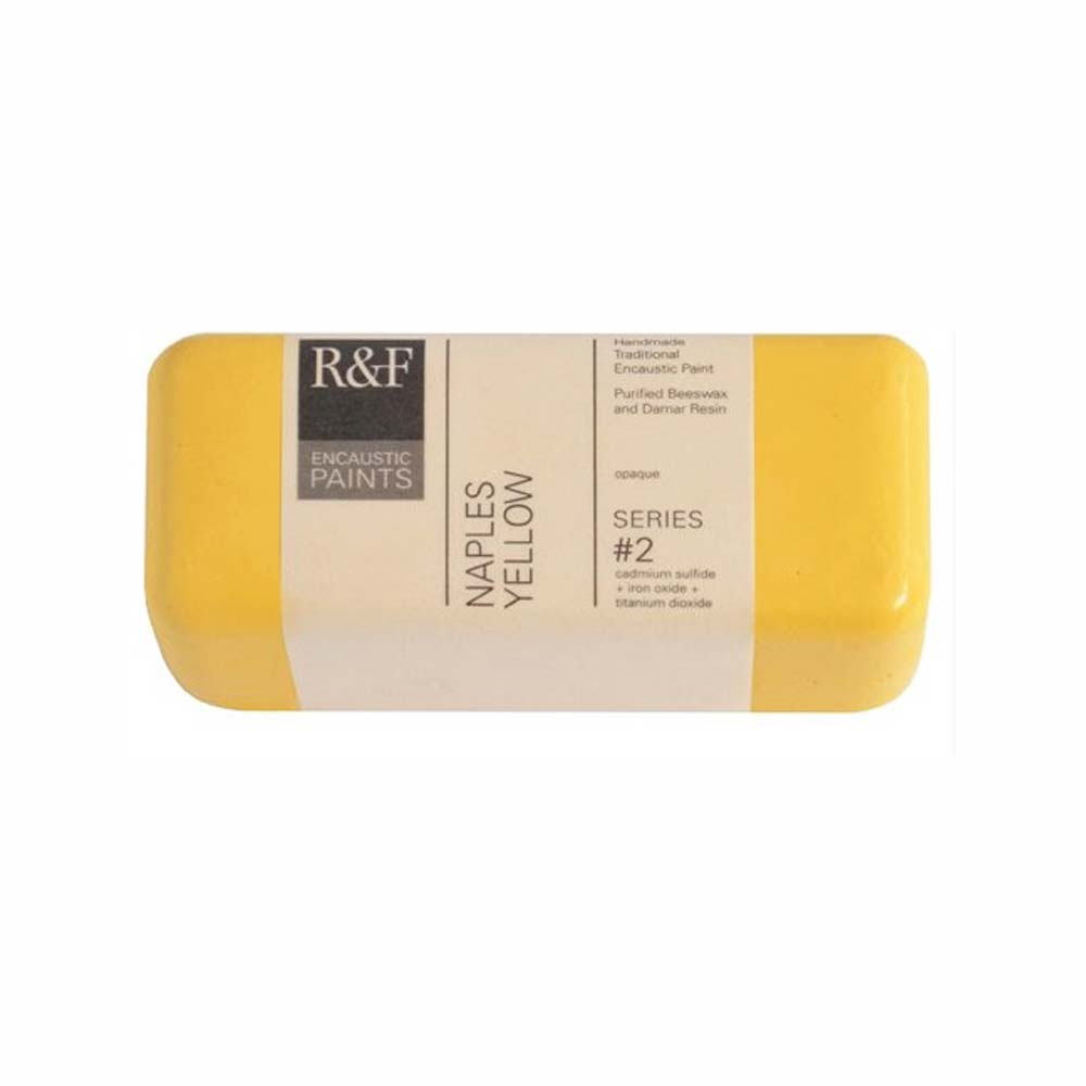 R&F Encaustic 104Ml Naples Yellow