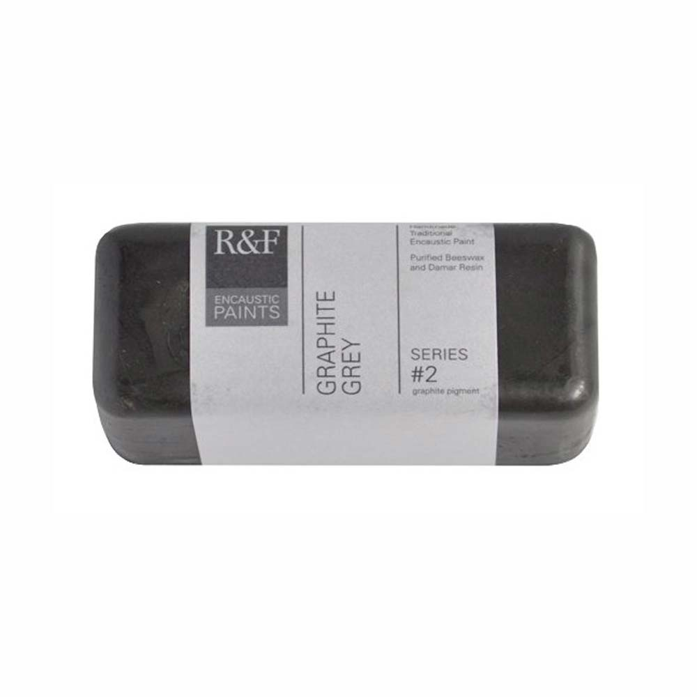 R&F Encaustic 104Ml Graphite Grey