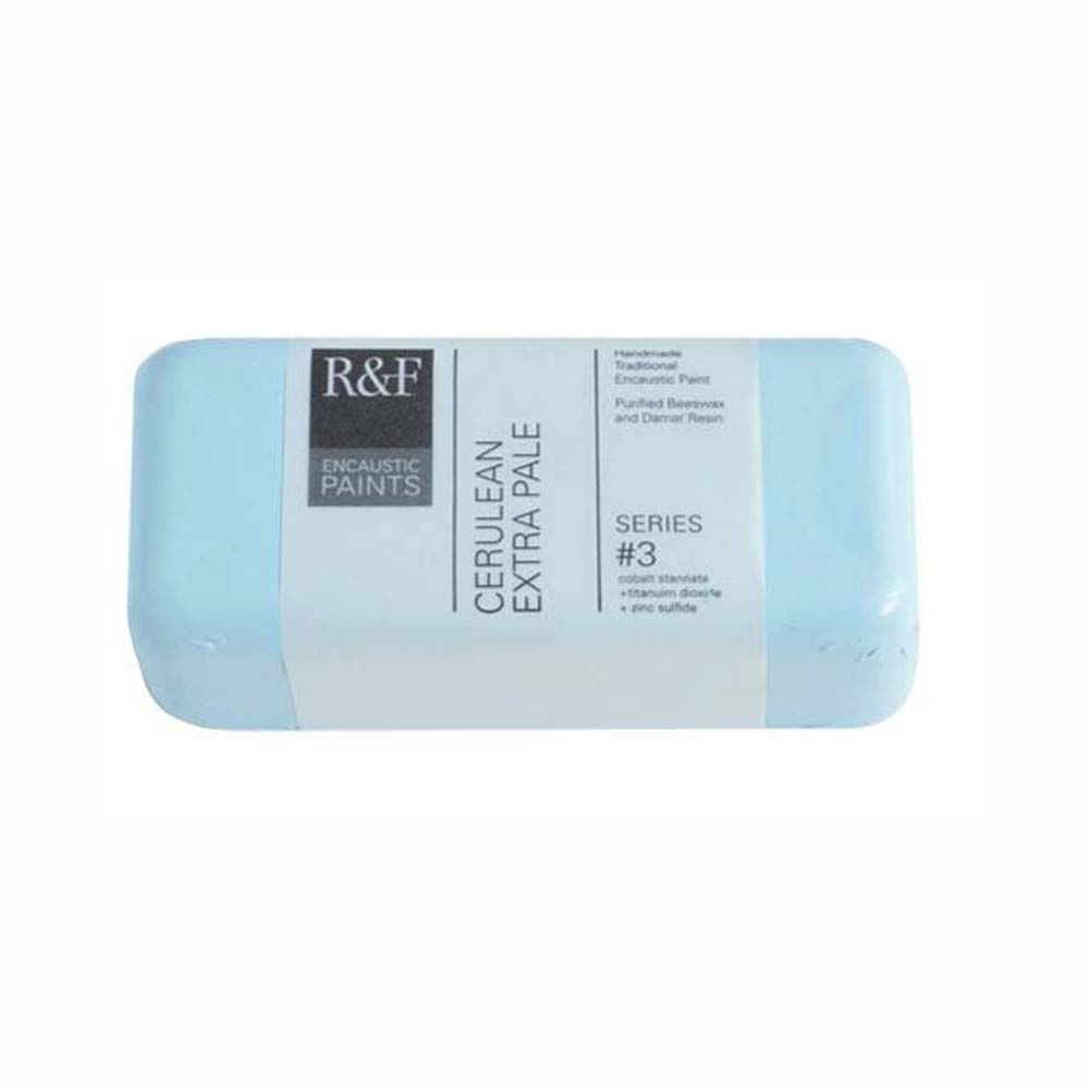 R&F Encaustic 104Ml Cerulean Extra Pale