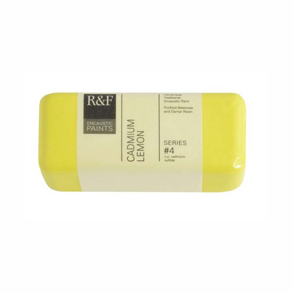 R&F Encaustic 104Ml Cadmium Lemon