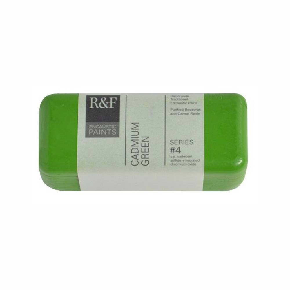 R&F Encaustic 104Ml Cadmium Green