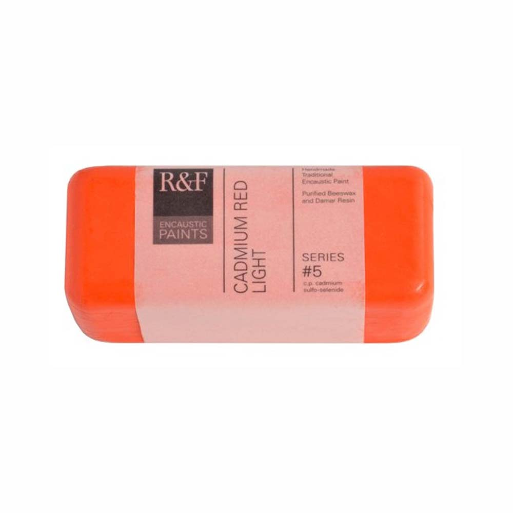 R&F Encaustic 104Ml Cadmium Red Light