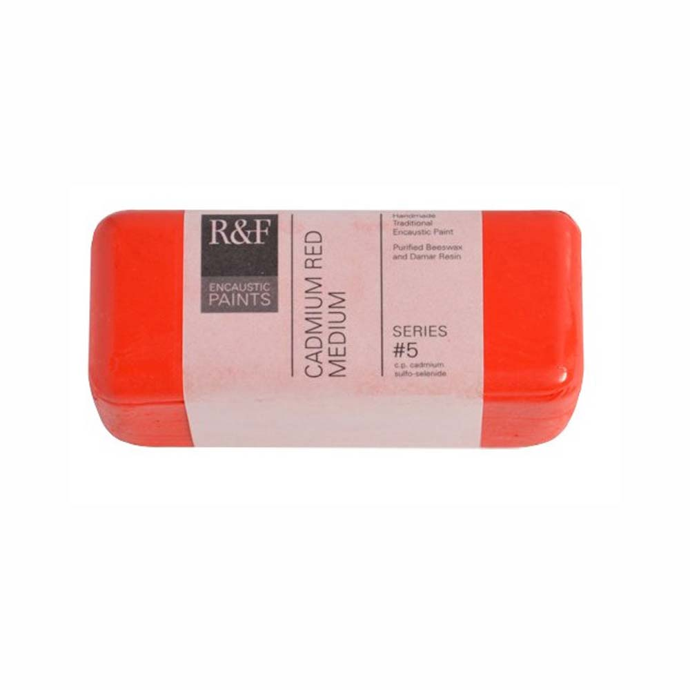 R&F Encaustic 104Ml Cadmium Red Medium
