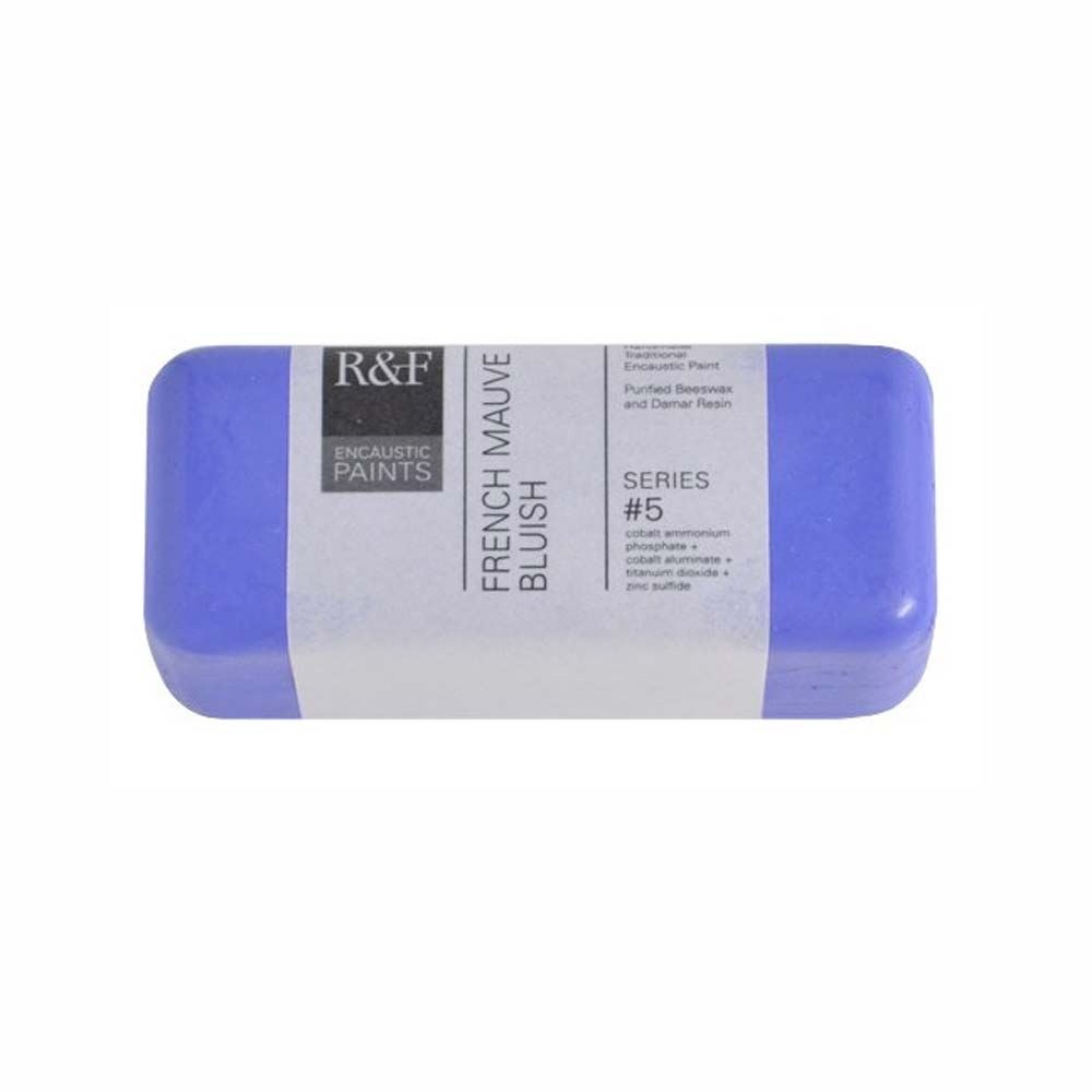 R&F Encaustic 104Ml French Mauve Bluish