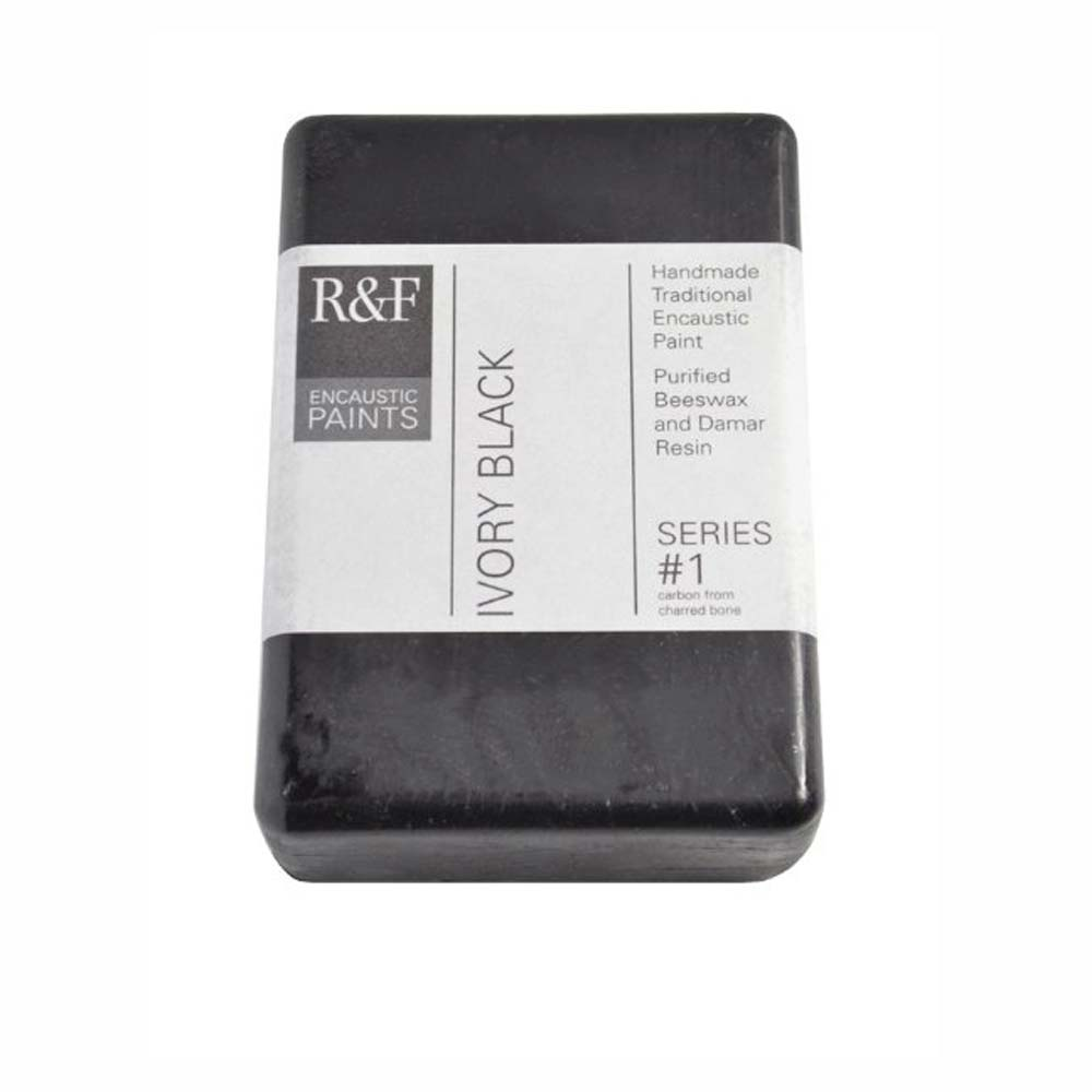 R&F Encaustic 333Ml Ivory Black