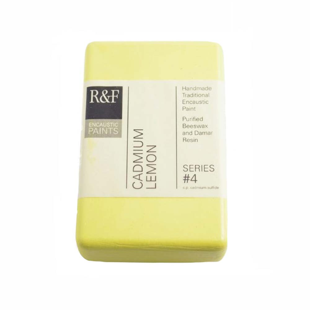R&F Encaustic 333Ml Cadmium Lemon
