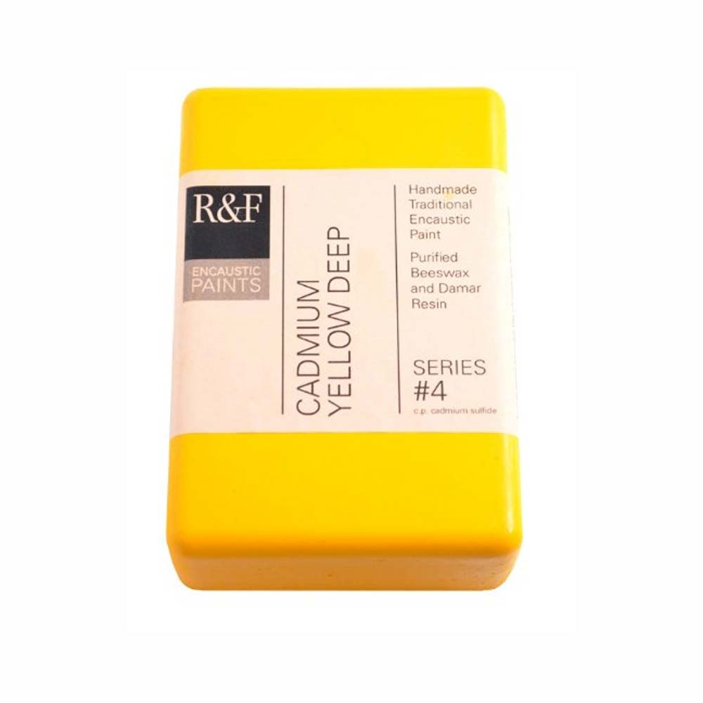 R&F Encaustic 333Ml Cadmium Yellow Deep