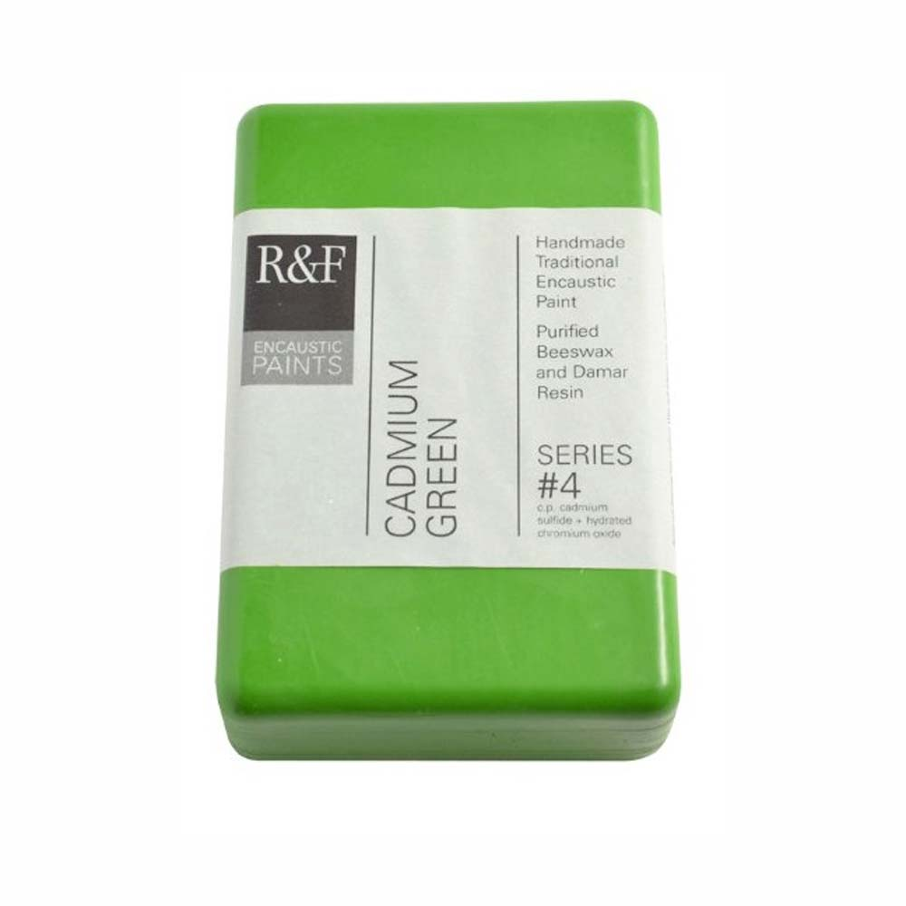 R&F Encaustic 333Ml Cadmium Green
