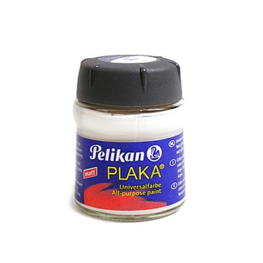 Pelikan Plaka 1 White 50Ml