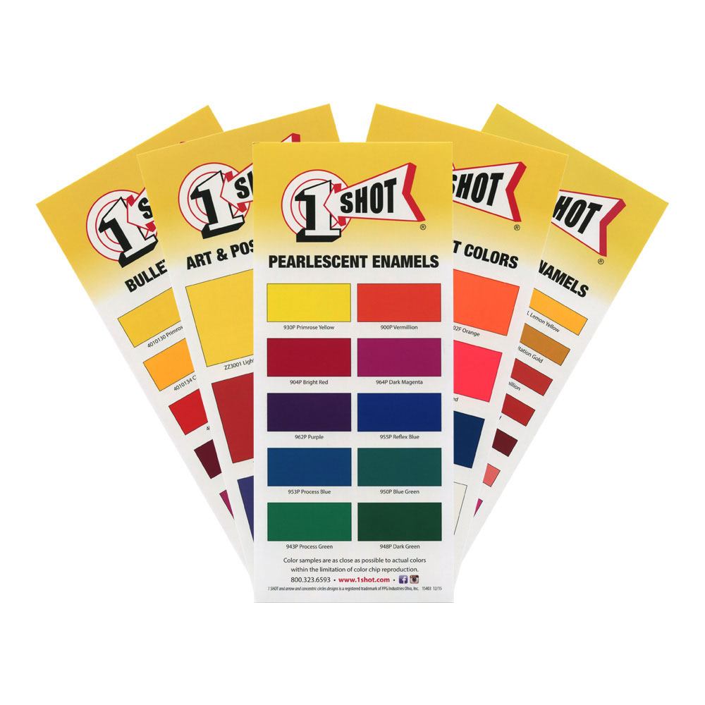 1-Shot Color Chart Set