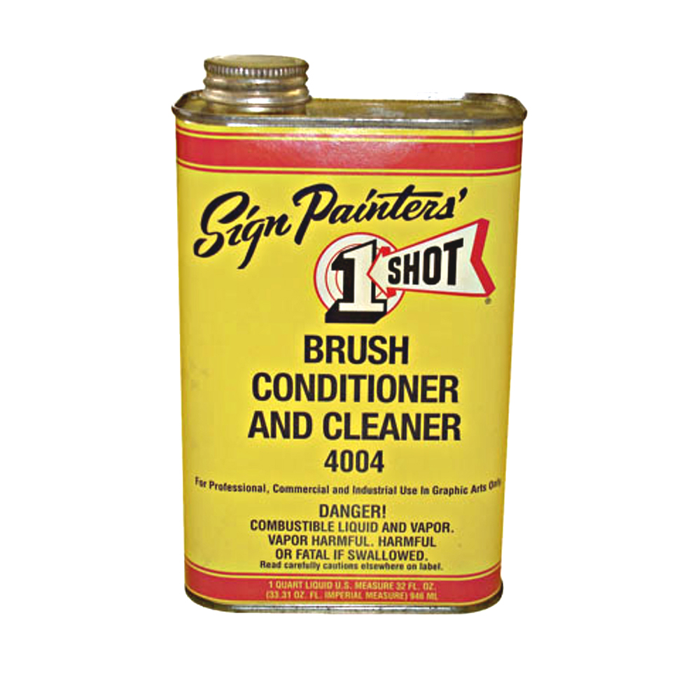 1-Shot 4004 Brush Cleaner Quart
