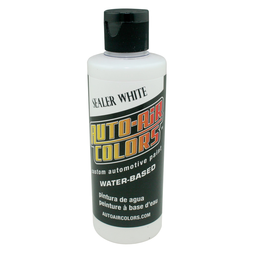 Autoair 4 Oz Base Coat Sealer White