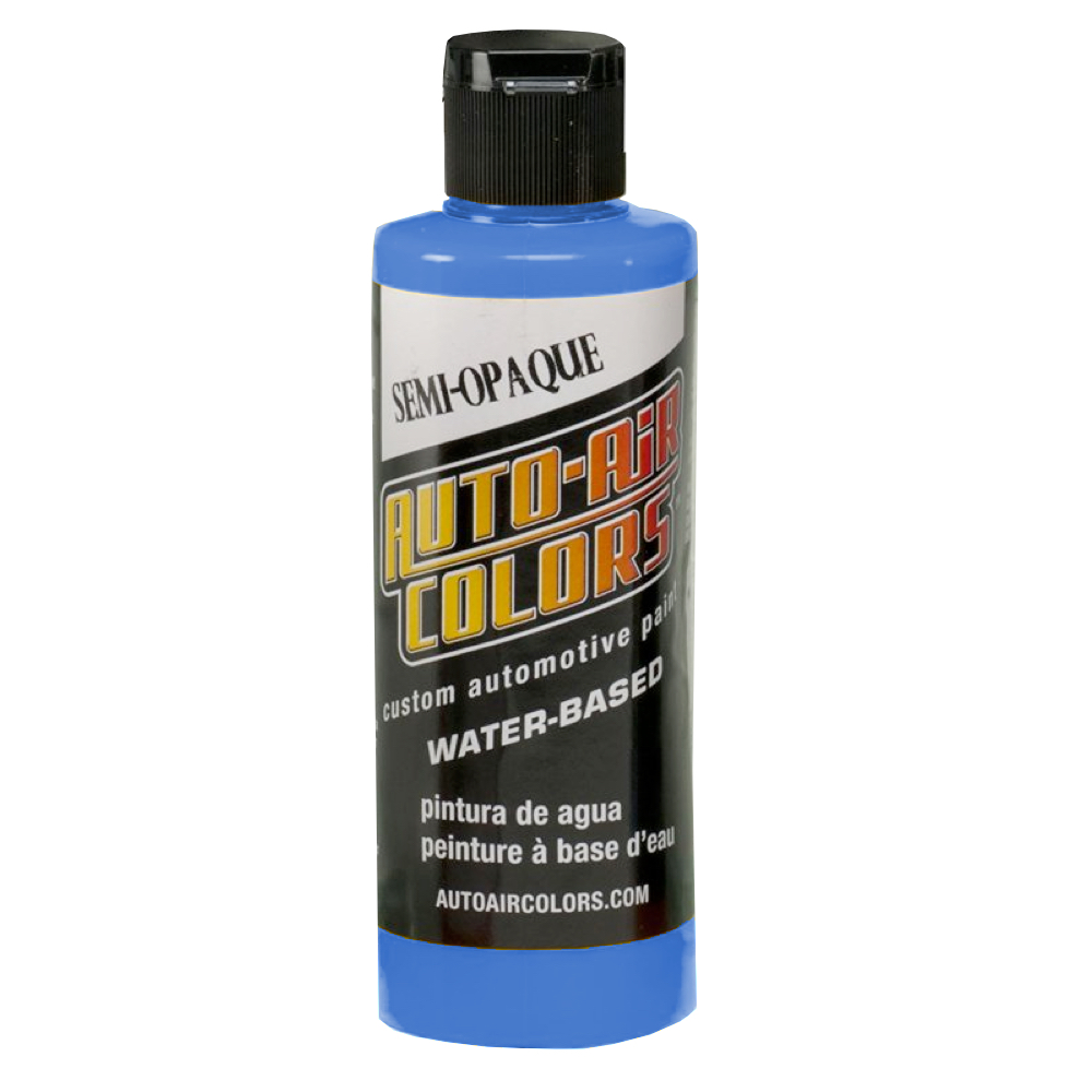 Autoair 4 Oz Semi-Opaque Process Blue