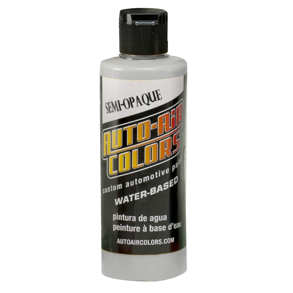 Autoair 4 Oz Semi-Opaque Medium Gray
