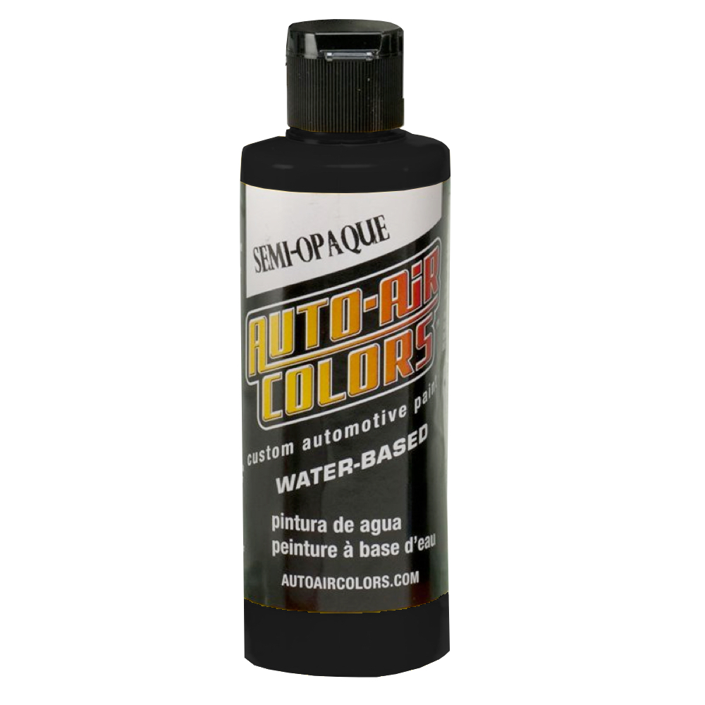 Autoair 4 Oz Semi-Opaque Deep Black