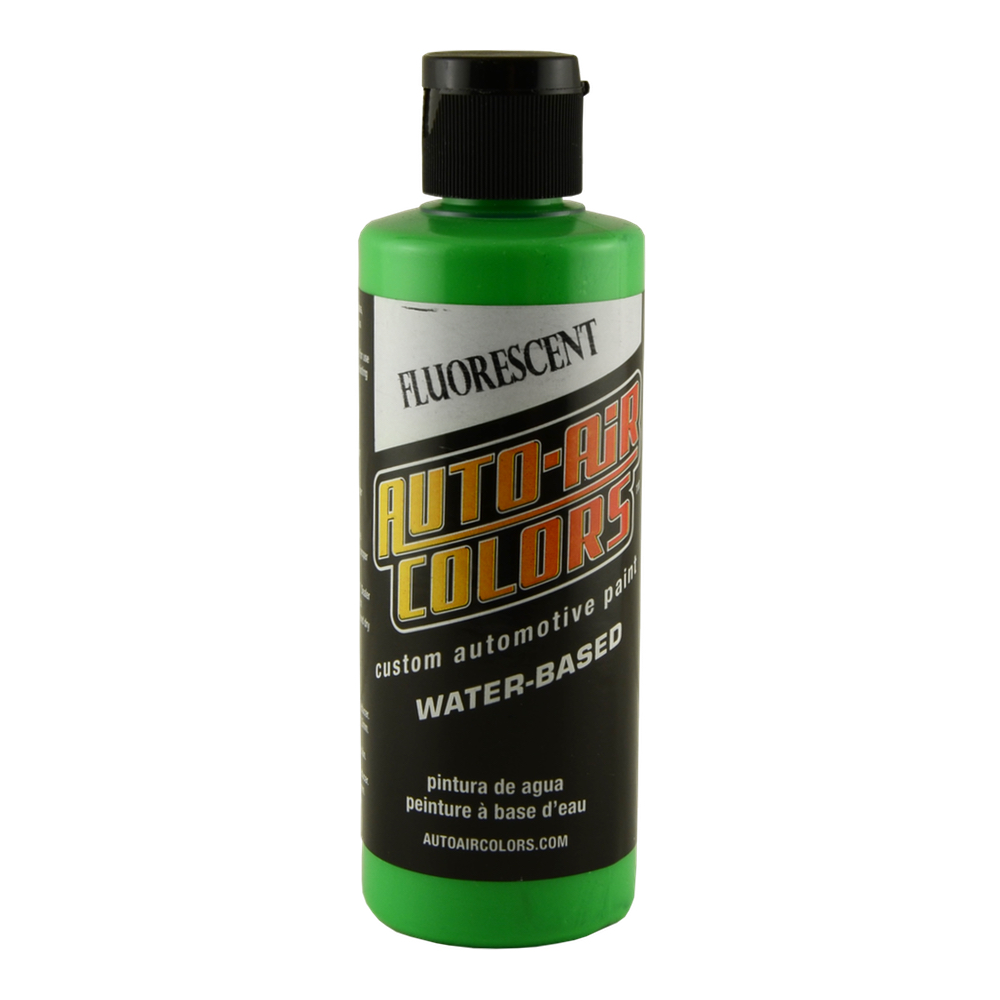 Autoair 4 Oz Fluorescent Hot Green