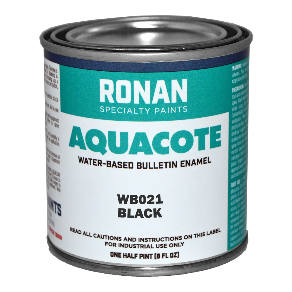 Ronan Aquacote Enamel 32 Oz Black
