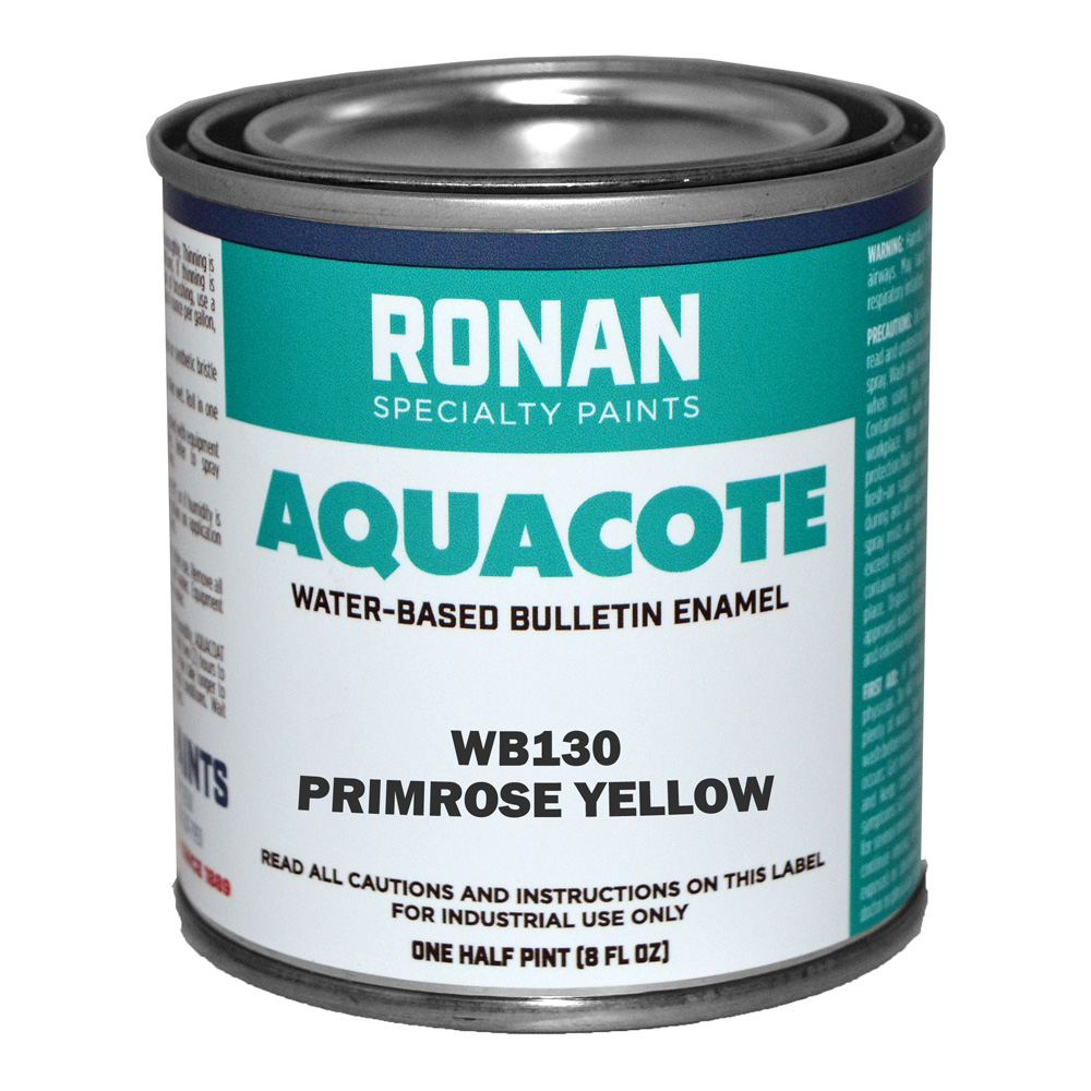 Ronan Aquacote Enamel 8 Oz Primrose Yellow
