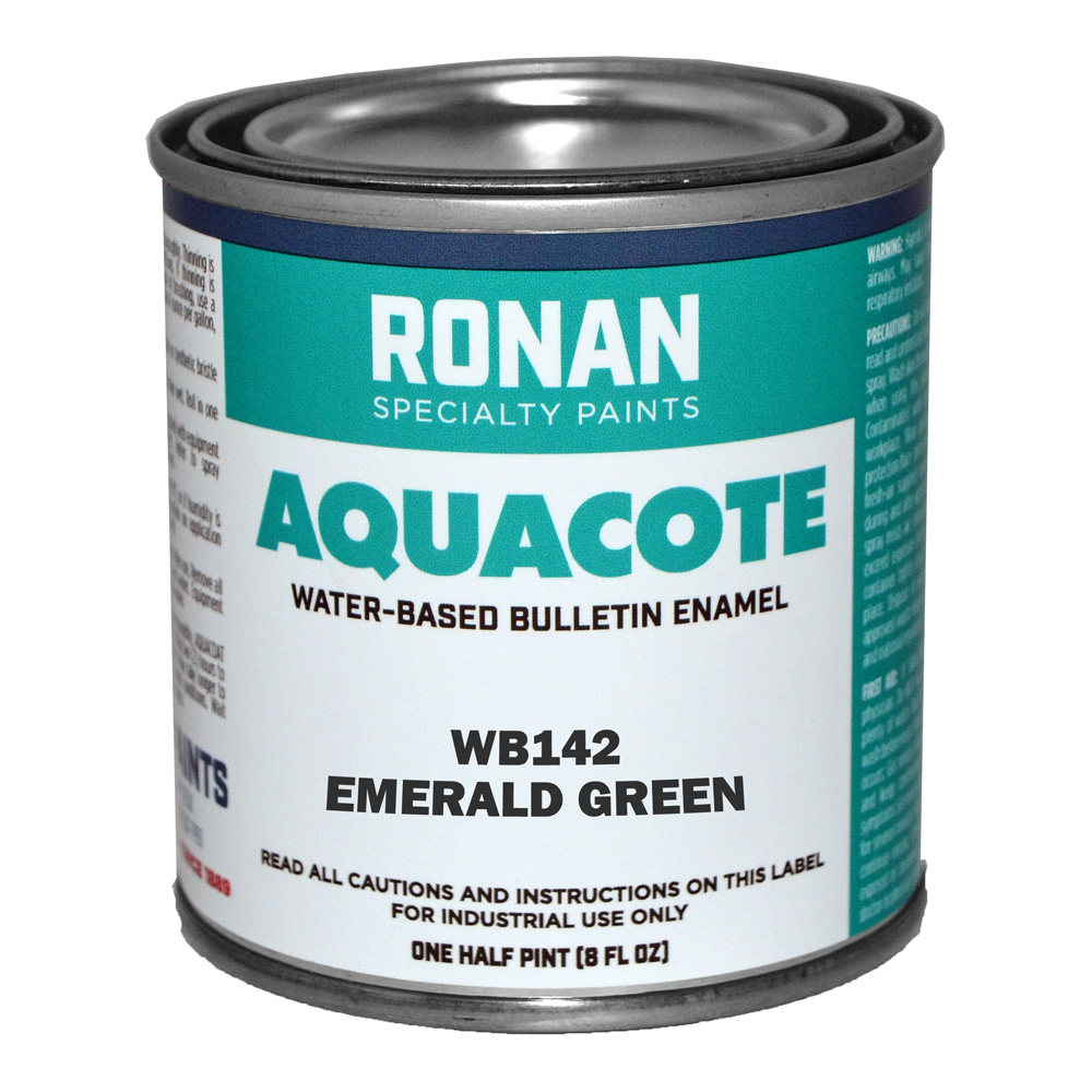 Ronan Aquacote Enamel 8 Oz Emerald Green