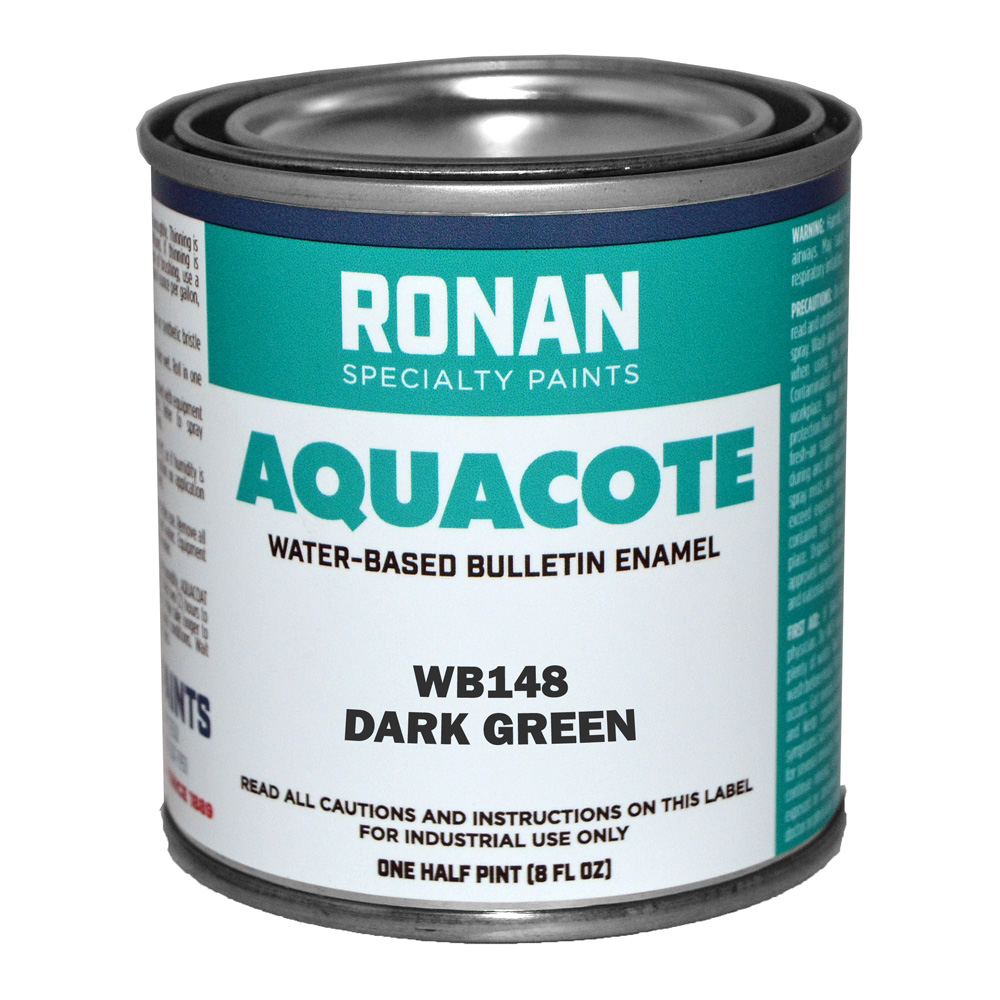 Ronan Aquacote Enamel 8 Oz Dark Green