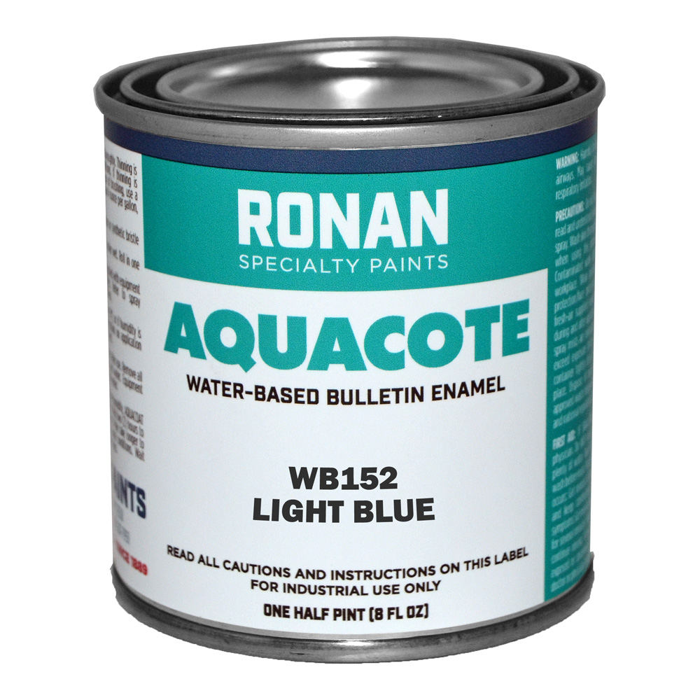 Ronan Aquacote Enamel 8 Oz Light Blue