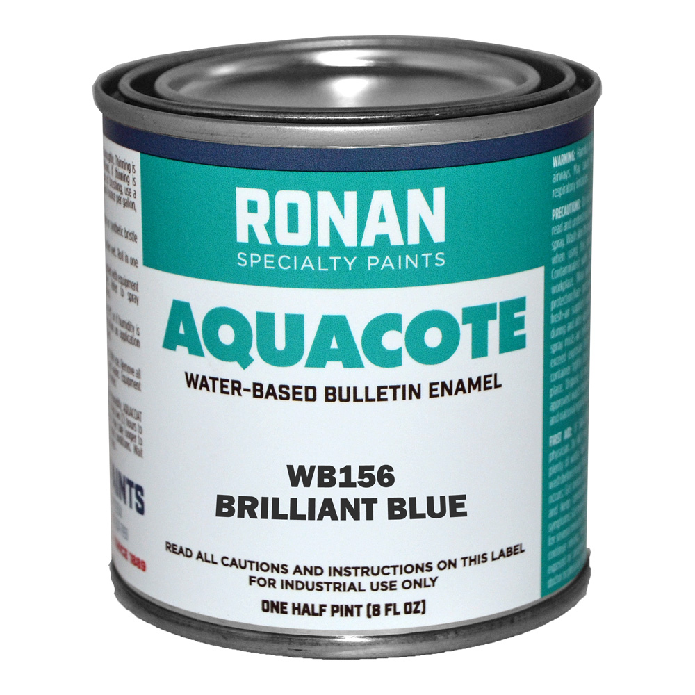 Ronan Aquacote Enamel 8 Oz Brilliant Blue