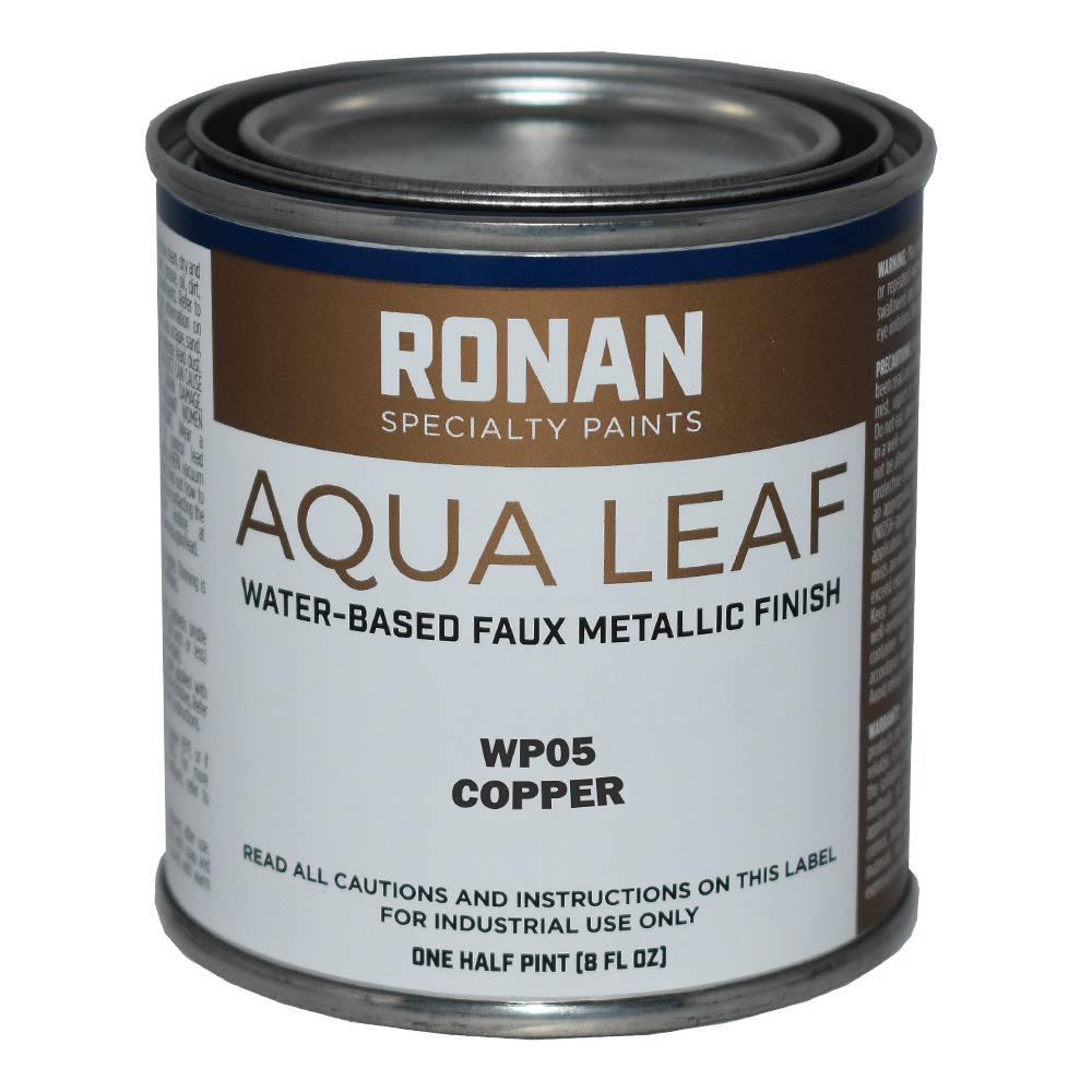 Ronan Aqua Leaf 8 Oz Copper
