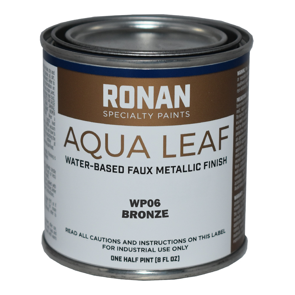 Ronan Aqua Leaf 8 Oz Bronze