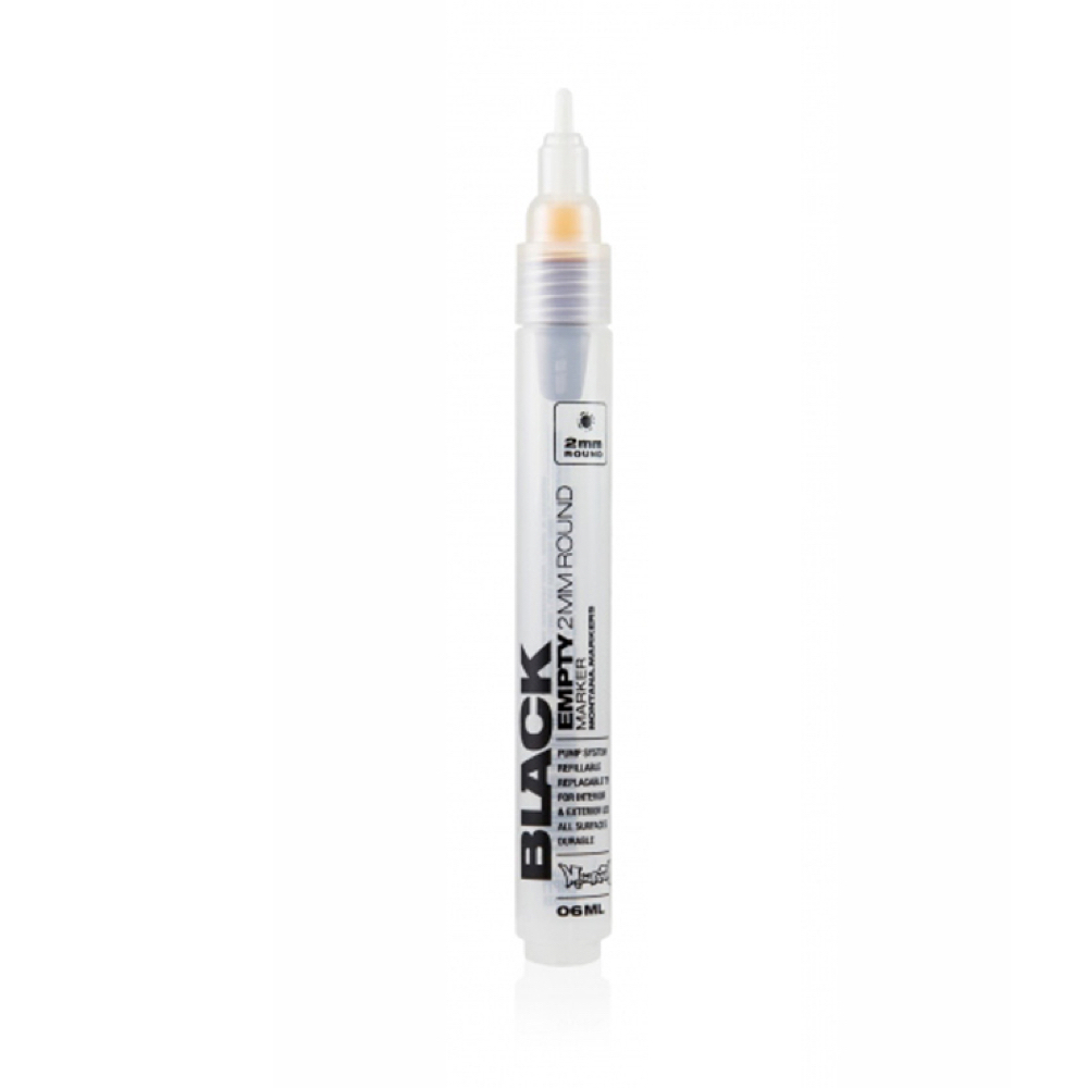 Montana Black Empty Marker 2Mm Round
