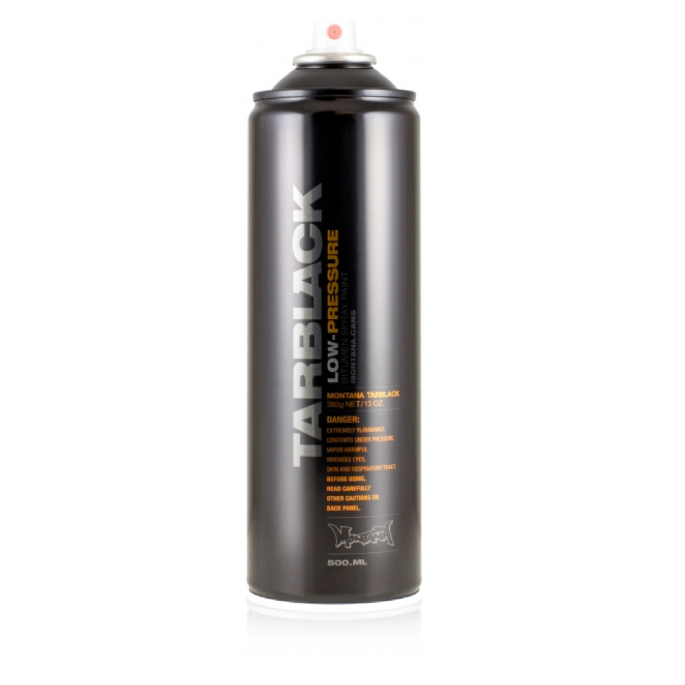 Montana Black 500Ml Low-Pressure Tar Black